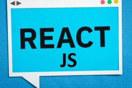 React JS web app development