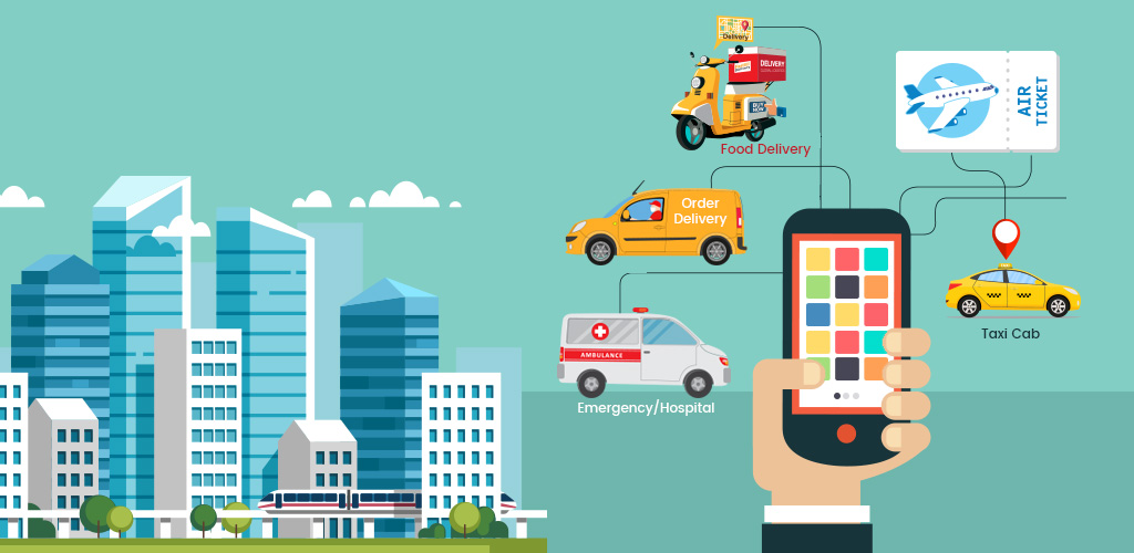 on demand service mobile apps by getSmartcoders