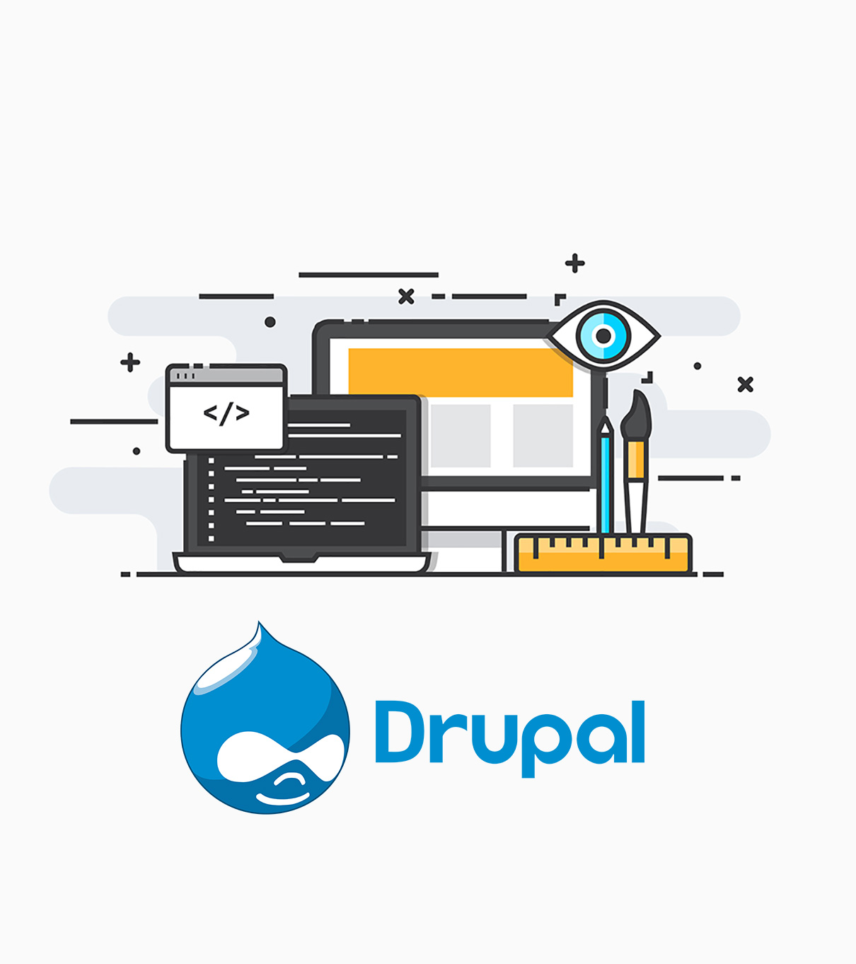 outsource Drupal web development services