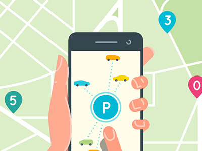 case study - ibeacon mobile app for parking spot